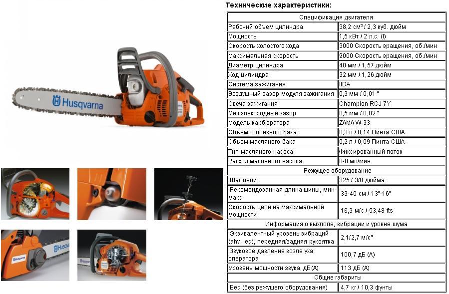 Хускварна 257: обзор бензопилы, характеристики, отзывы