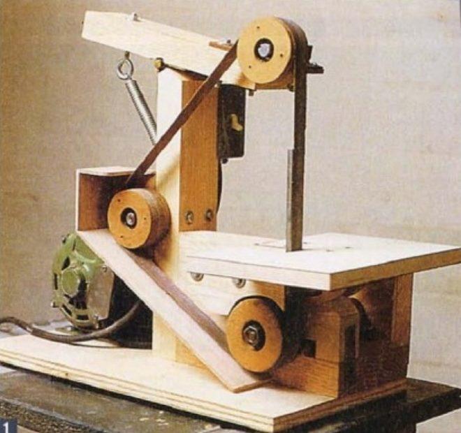 Шлифовальный станок по дереву: разновидности, как своими руками изготовить ручную плоскошлифовальную машинку