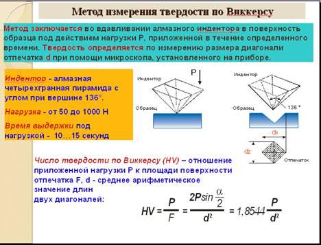 Гост р исо 6507-1-2007 металлы и сплавы. измерения твердости по виккерсу. часть 1. метод измерения