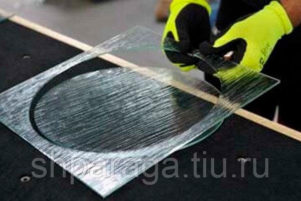 Как резать стекло при помощи стеклореза и без него