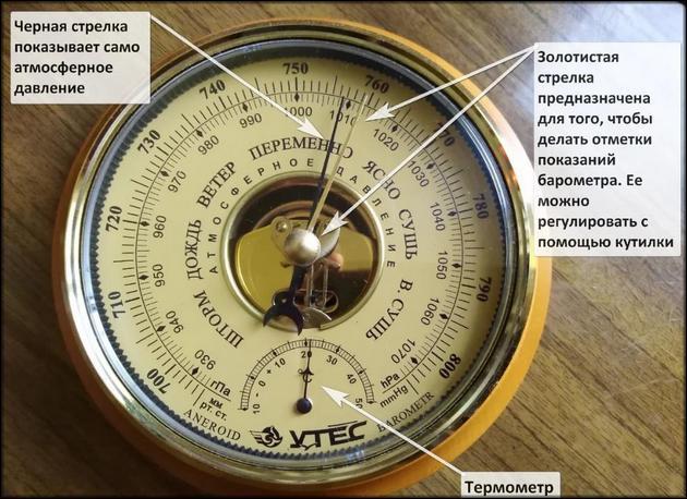 Барометры для рыбалки: как выбрать барометр