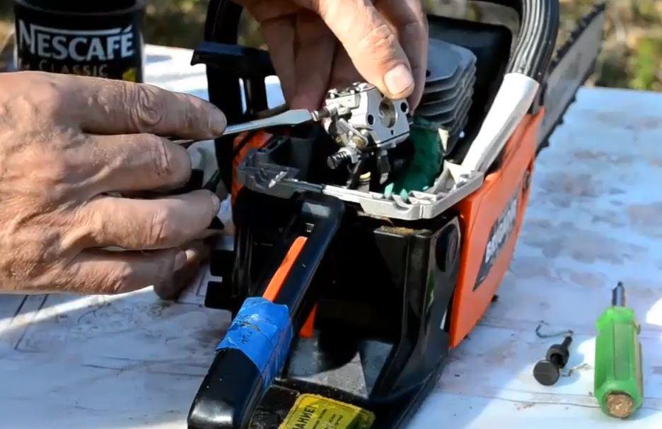 Регулировки карбюратора бензопилы и устройство китайских инструментов