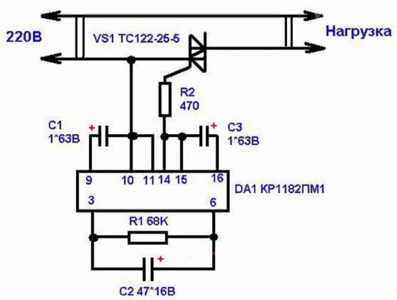 Плавный пуск электродвигателя своими руками: устройство и полезные советы