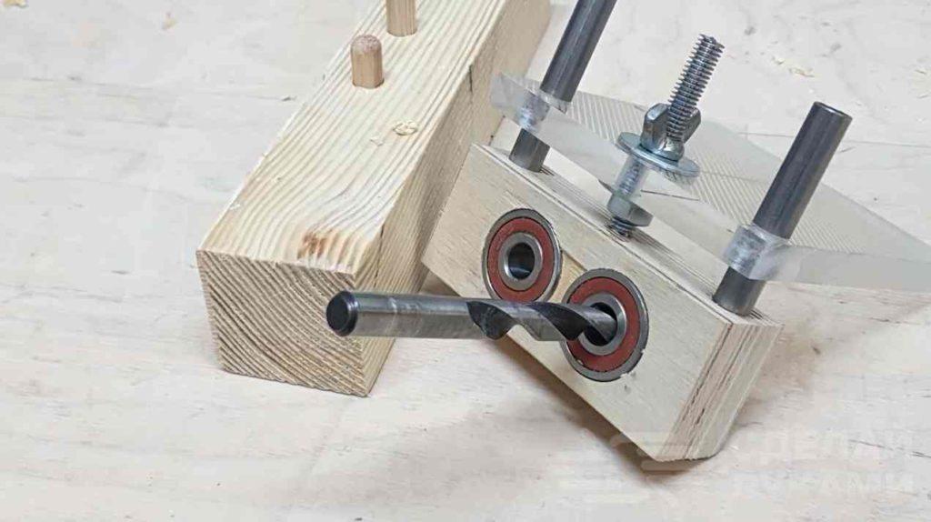 Кондукторы для сверления отверстий для мебели: как сделать своими руками удобное приспособление