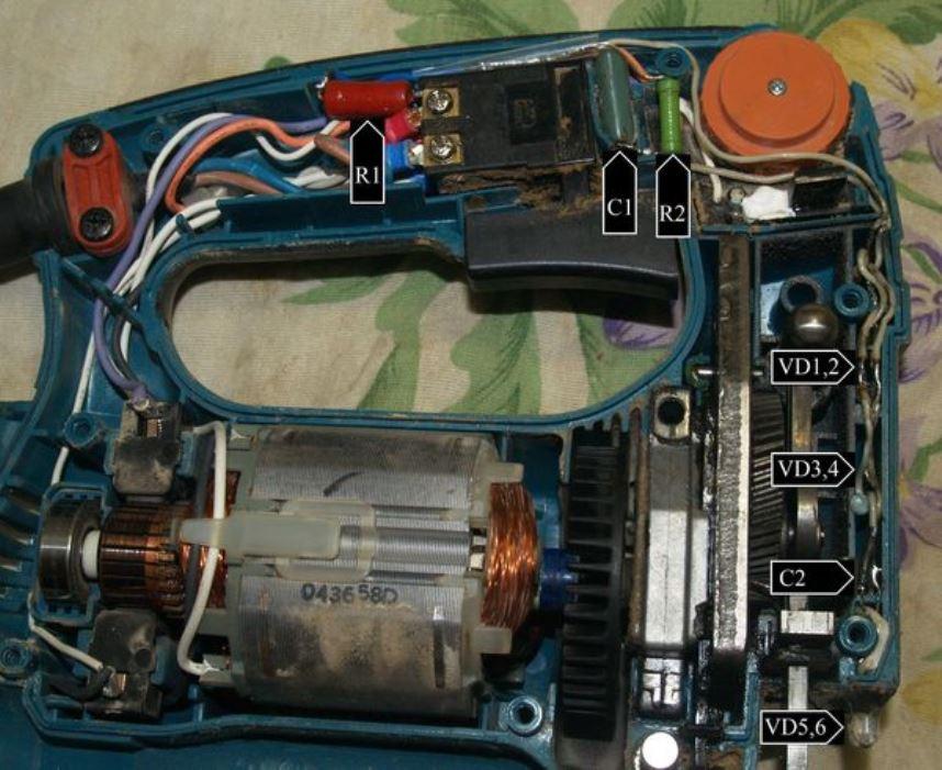Типичные неисправности и ремонт электролобзика своими руками
