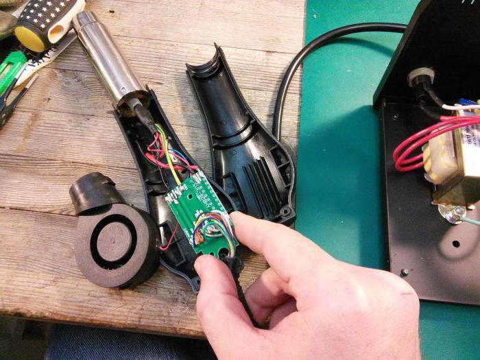 Просто и недорого! как сделать ремонт строительного фена своими руками?
