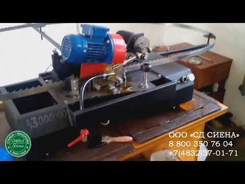 Заточной станок для ленточных пил - его устройство, разводка зубьев и инструкция