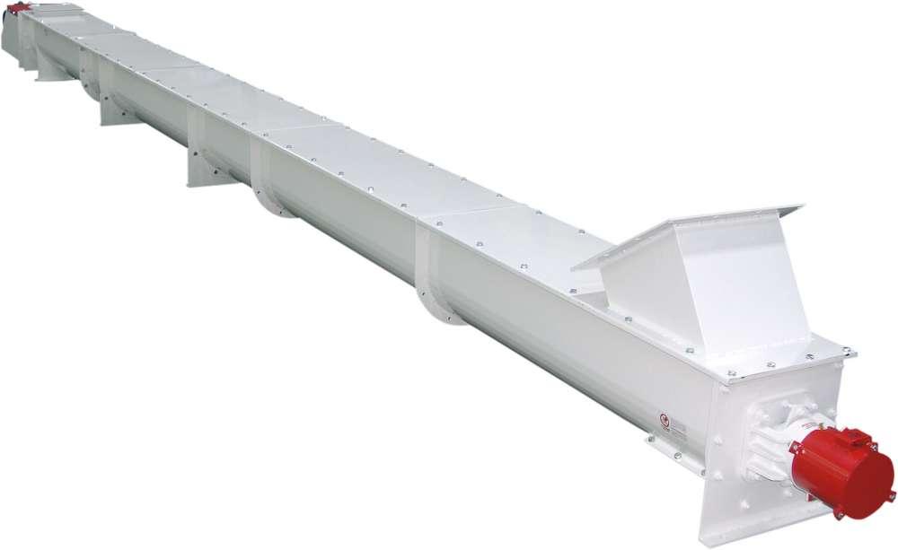 Шнековый транспортер осадка што-в