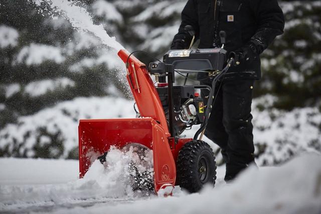 Снегоуборщик хускварна (husqvarna): модели, характеристики