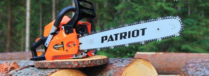 Бензопилы Патриот (Patriot) — большой обзор широкой линейки