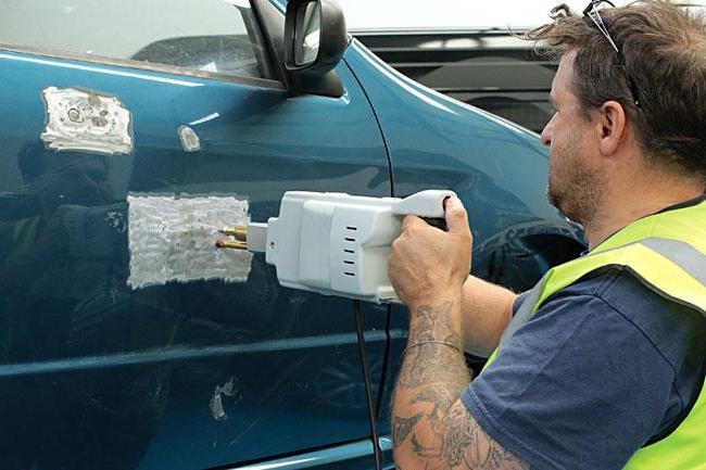 Споттер для кузовного ремонта. как он работает? | проинструмент