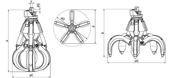 Ковш грейферный: грейферный ковш — википедия – грейферный ковш. размеры, объём и устройство — дорспецтехника.рф