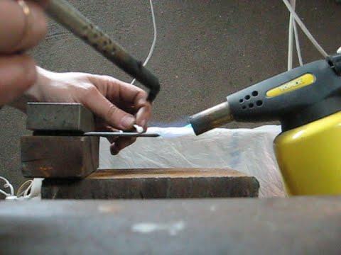Как паять алюминиевые провода?
