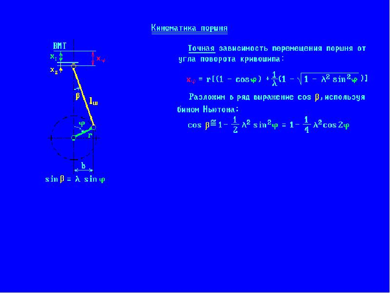 Технологический расчет, выбор угла встречи, определение радиуса кривошипа и длины шатуна, определение номинальной силы пресса - расчет детали пресса при помощи пакета программ сапр