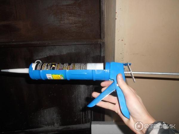Как правильно пользоваться пистолетом для жидких гвоздей?