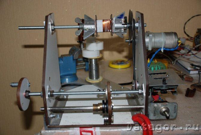 Способ намотки тороидального трансформатора