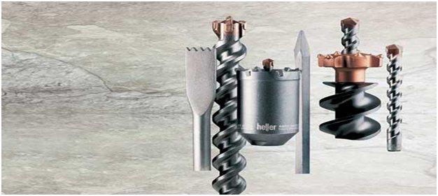 Насадки для перфоратора по металлу, бетону и кирпичу: буры, сверла, зубила, пики, лопатки