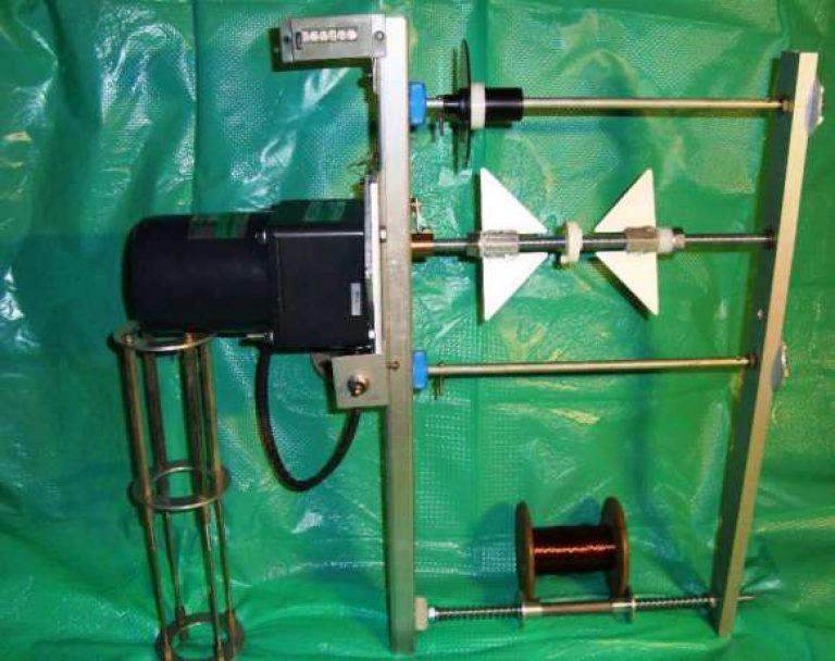 Самодельный станок для намотки трансформаторов своими руками