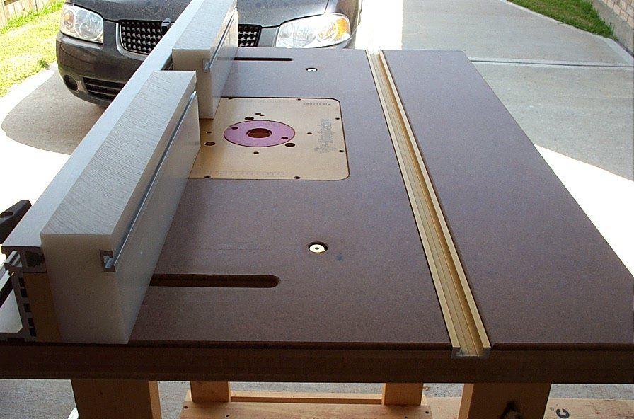 Шаг навстречу профессиональной мастерской — стол для фрезера своими руками с чертежом и размерами