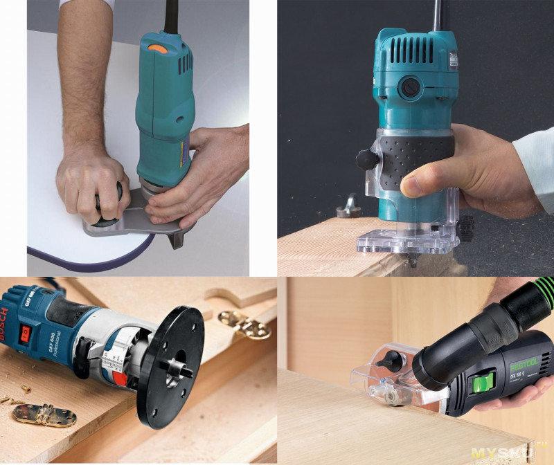 Как выбрать фрезер ручной по дереву для дома и какими функциями он должен обладать