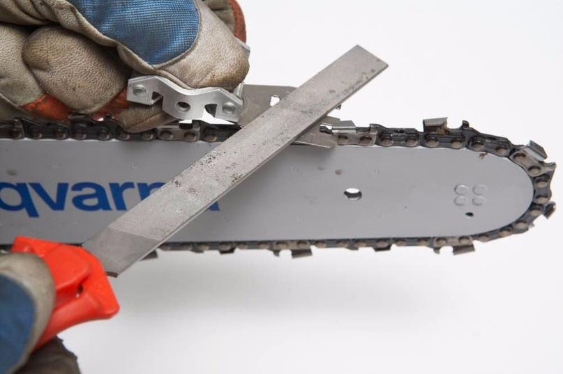 Как заточить цепь бензопилы: способы и пошаговые инструкции