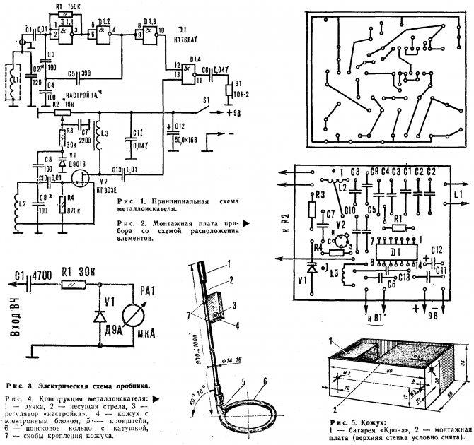 Как сделать металлоискатель своими руками: схемы, инструкция