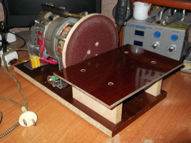 Гриндер своими руками (шлифовальный станок): чертежи, изготовление