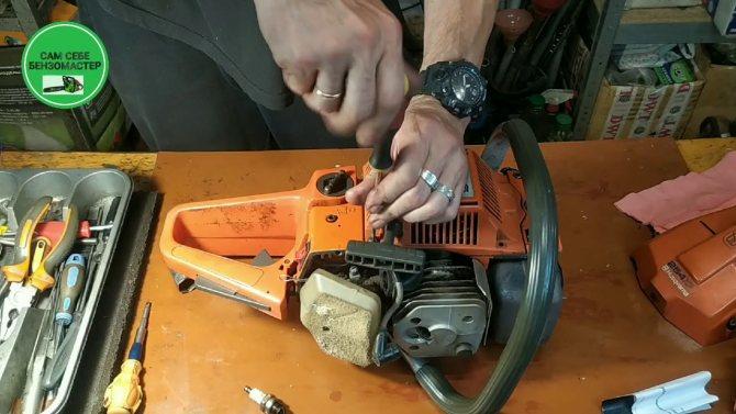 Разбираемся в правильности проведения обкатки бензопилы по инструкции | бензопилка