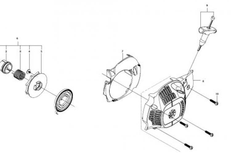 Ремонт стартера бензокосы: инструкция и рекомендации