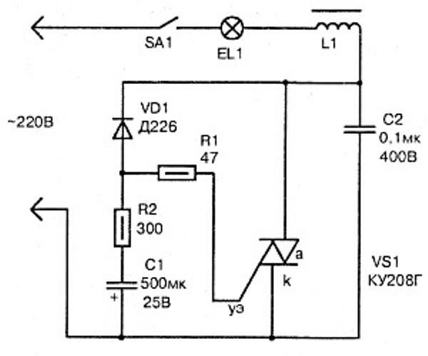 Плавный пуск асинхронного электродвигателя своими руками