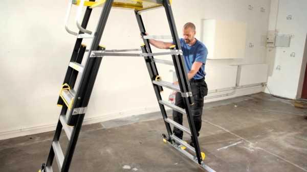 Лестницы и стремянки: классификация, правила выбора