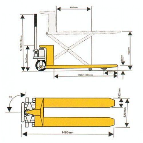 Гидравлические тележки (рохли): разновидности, правила эксплуатации, параметры, преимущества использования