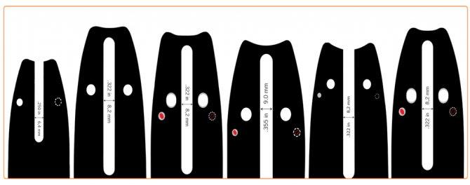 Шина для бензопилы - выбор, причины износа, нагрева и кривого реза