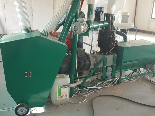 Какое использовать оборудование для производства пеллет?