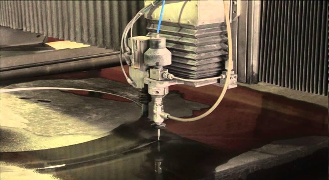 Waterjet - гидроабразивный станок, технология и схема работы