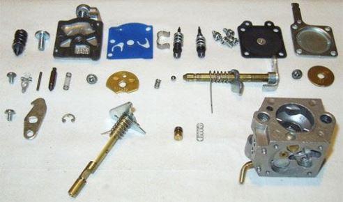 Регулировка ремонт карбюратора мотокосы