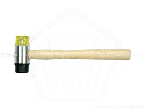 Резиновая киянка. молоток с мягким характером