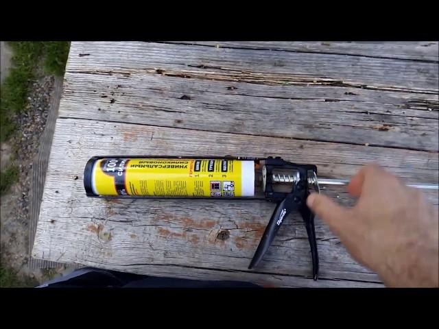 Как пользоваться пистолетом для жидких гвоздей