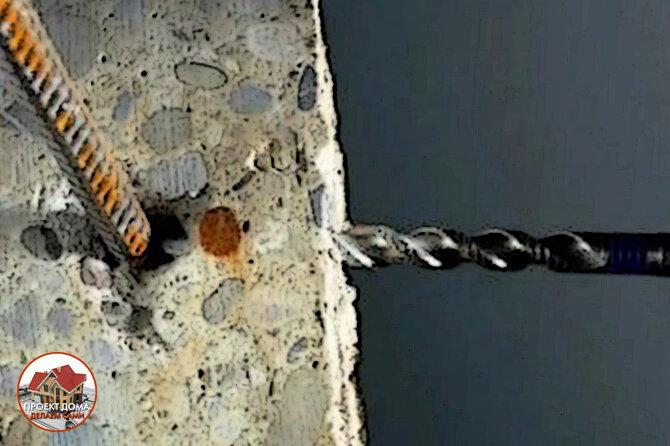 Как шуруповертом просверлить бетонную стену -