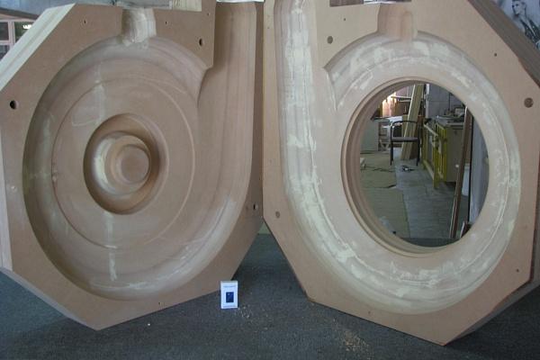 Ротационный станок для литья гипса