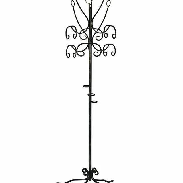 Кованые вешалки: стойки, угловые, с крючками, на ножках, манекен, в виде животных и дерева, навесные, с плечиками, эксклюзивные, декоративные, самодельные; все подробности