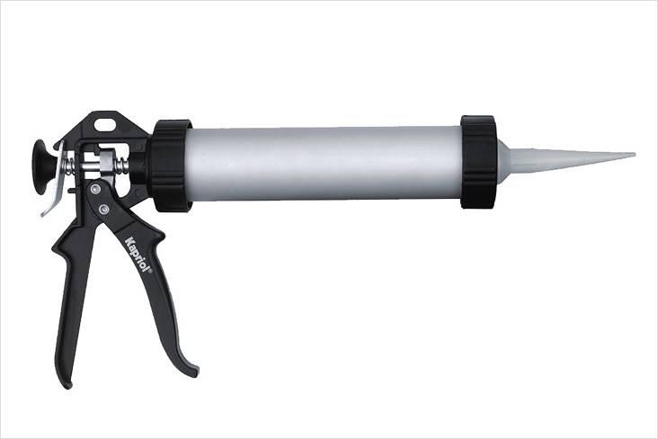 Как пользоваться пистолетом для герметика: инструкция