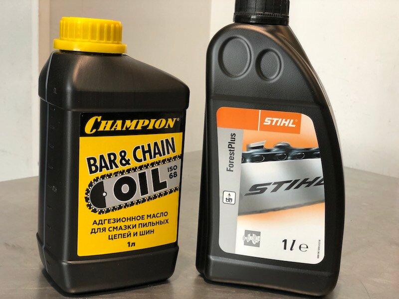 Масло для бензопилы. какое использовать?   проинструмент