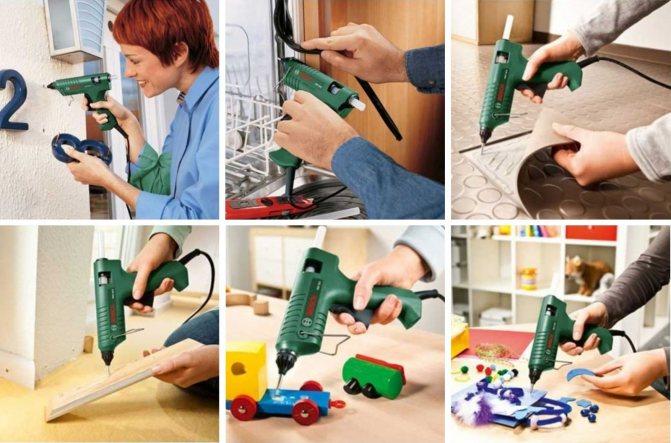 Клеевой пистолет - 100 фото особенностей выбора инструмента для склейки
