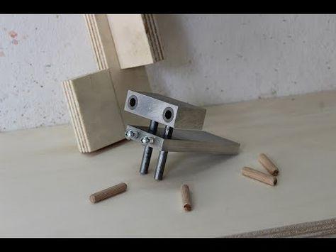 Мебельный кондуктор для сверления отверстий: виды, изготовление своими руками