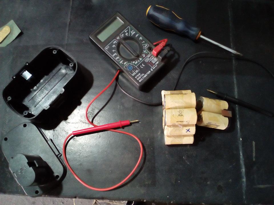 Пайка аккумуляторов для шуруповерта: инструкция по перепайке 18650