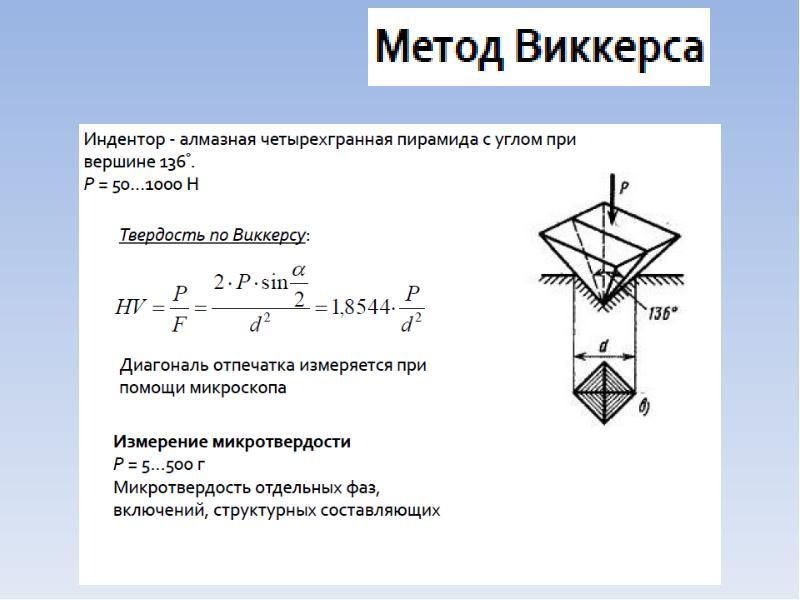 Соответствие твердости и прочности таблица / hardness equivalent table