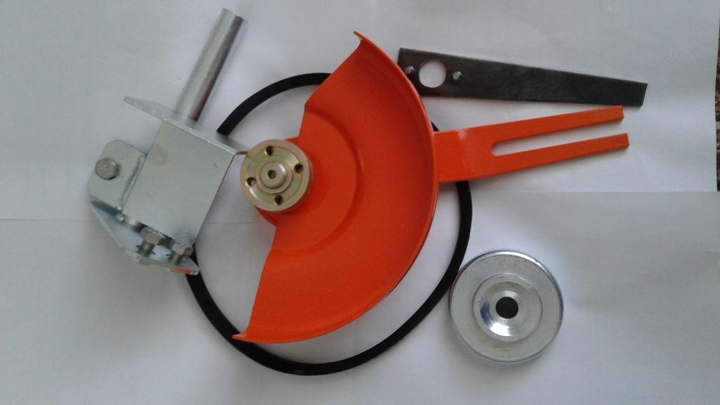 Непривычное применение инструмента: полезные насадки на бензопилу