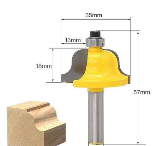 Все типы фрез и приспособлений для ручного фрезера
