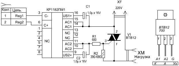 Блок плавного пуска для электроинструмента как подключить